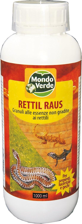 Mondo Verde REP94EP Repelentes Reptiles de 1000 ml, Blanco, 3x3x22 cm