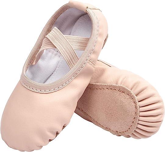 STELLE Girls Canvas Ballet Slipper