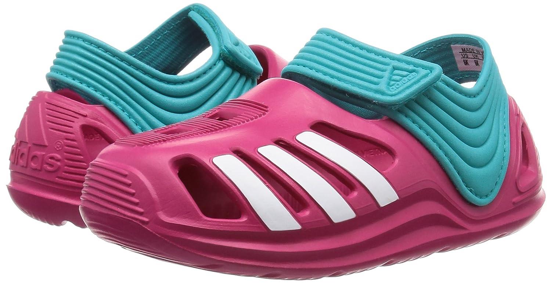 adidas Kinder Badelatschen Zsandal Sandale rosa, 19: Amazon