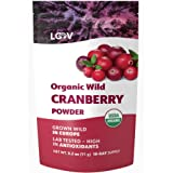 Organic Wild Cranberry Powder, Made from 100% Whole Organic Cranberry Fruit, Freeze Dried and Powdered Cranberries, Raw…