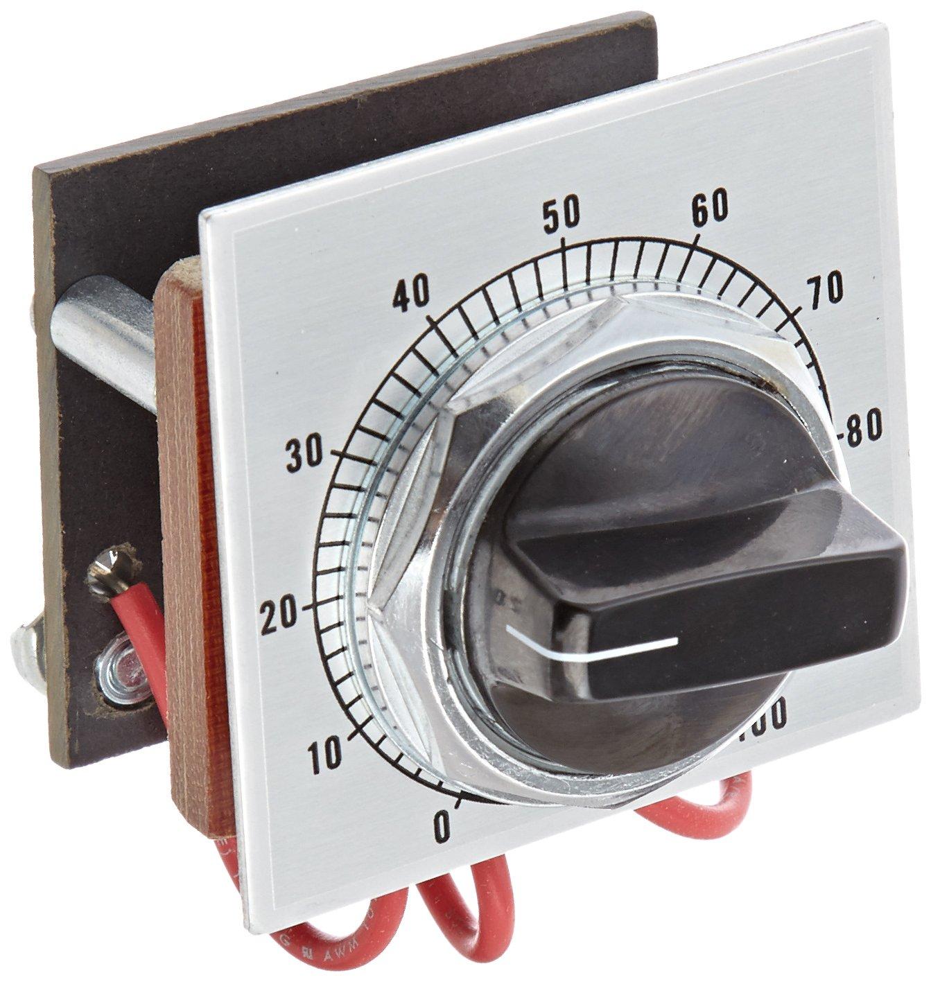 Siemens 52MA3B14 Heavy Duty Potentiometer Operator, 2 Watts, 500VAC/VDC, Type 12/3 Only, 10 kiloohms by SIEMENS