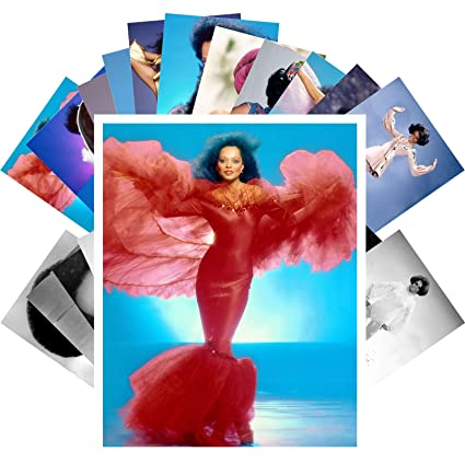 Amazon com: Postcard Set 24 cards DIANA ROSS Posters Photos
