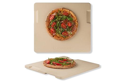 rocksheat Pizza piedra de cordierita para pizza y pan horno grill ...