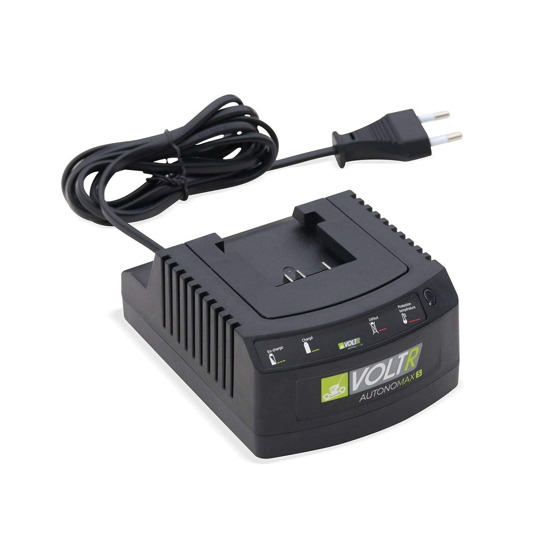 S Normes CE VOLTR AutonoMAX avec batterie Samsung Lithium 2,5Ah cache lames inclus chargeur 40V Taille-haies 54cm sans fil Nouvelle g/én/ération poign/ée rotative