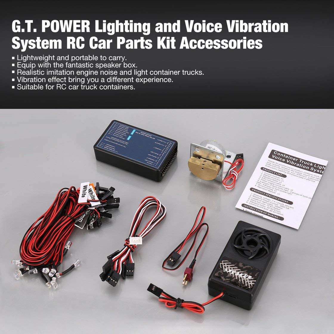 Incredible Hermosairis Gt Power Beleuchtung Und Voice Vibration System Rc Wiring Digital Resources Xeirawoestevosnl