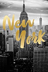 "New York: Journal, Notebook, Diary, 6""x9"" Lined Pages, 150 Pages Paperback"