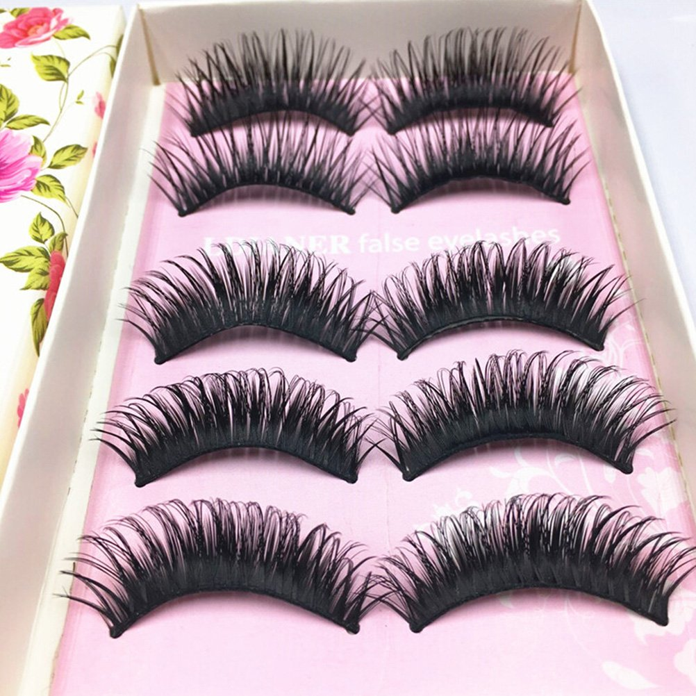 Amazon Pixnor Natural Soft False Eyelashes Super Thick Long