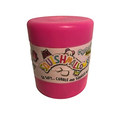 Squishmallow Mystery Squad 4 Inch Hot Pink: Toys & Games