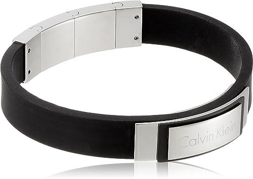 l'ultimo 20935 a47b5 Calvin Klein Bracciale intrecciato Uomo acciaio_inossidabile ...