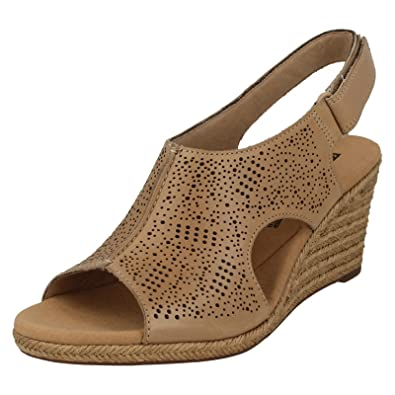 36e080da96a Clarks Women s Lafley Rosen Sling Back Sandals  Amazon.co.uk  Shoes   Bags