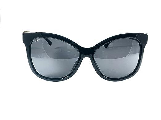 Loewe SLW950G590700 Gafas de sol, Shiny Black, 59 para Mujer ...
