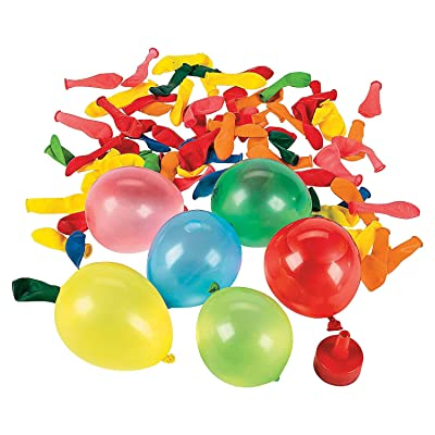 Water Ballooon Set with Easy Filler (Bulk Set of 480 Water Bombs) Outdoor Toys and Fun: Toys & Games