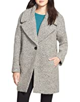 Calvin Klein One Button Oversize Coat