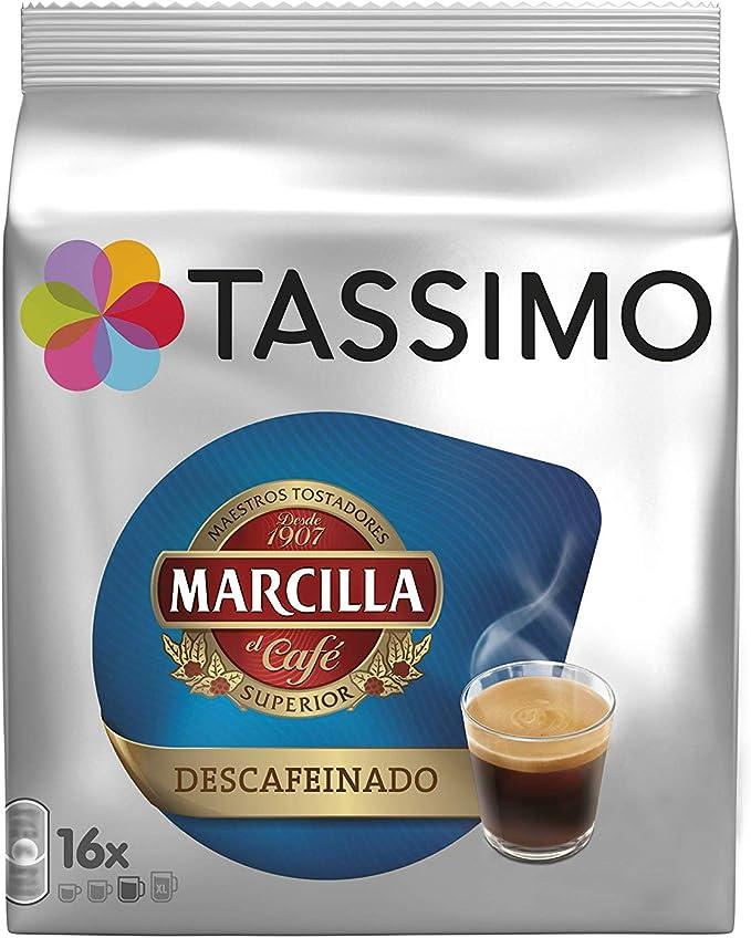 Tassimo Café Marcilla Descafeinado - 80 Cápsulas (T DISCs ...