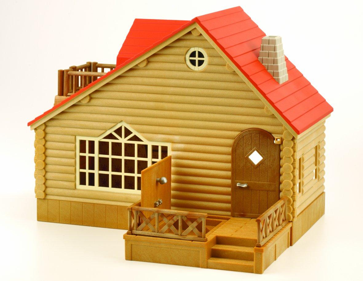 Sylvanian Families Log Cabin Amazoncouk Toys Games