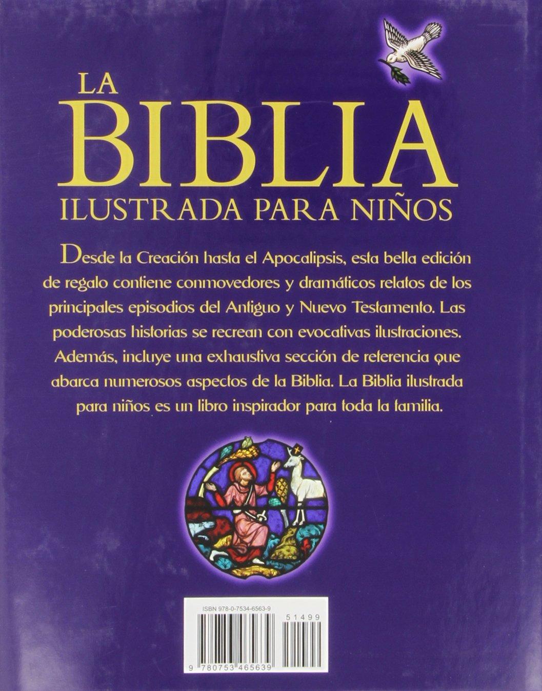 La Biblia Ilustrada para Ninos: Gift edition: Trevor Barnes: 9780753465639: Amazon.com: Books