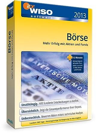 WISO Börse 2013 Basic: Michael Opoczynski: Amazon.de: Software