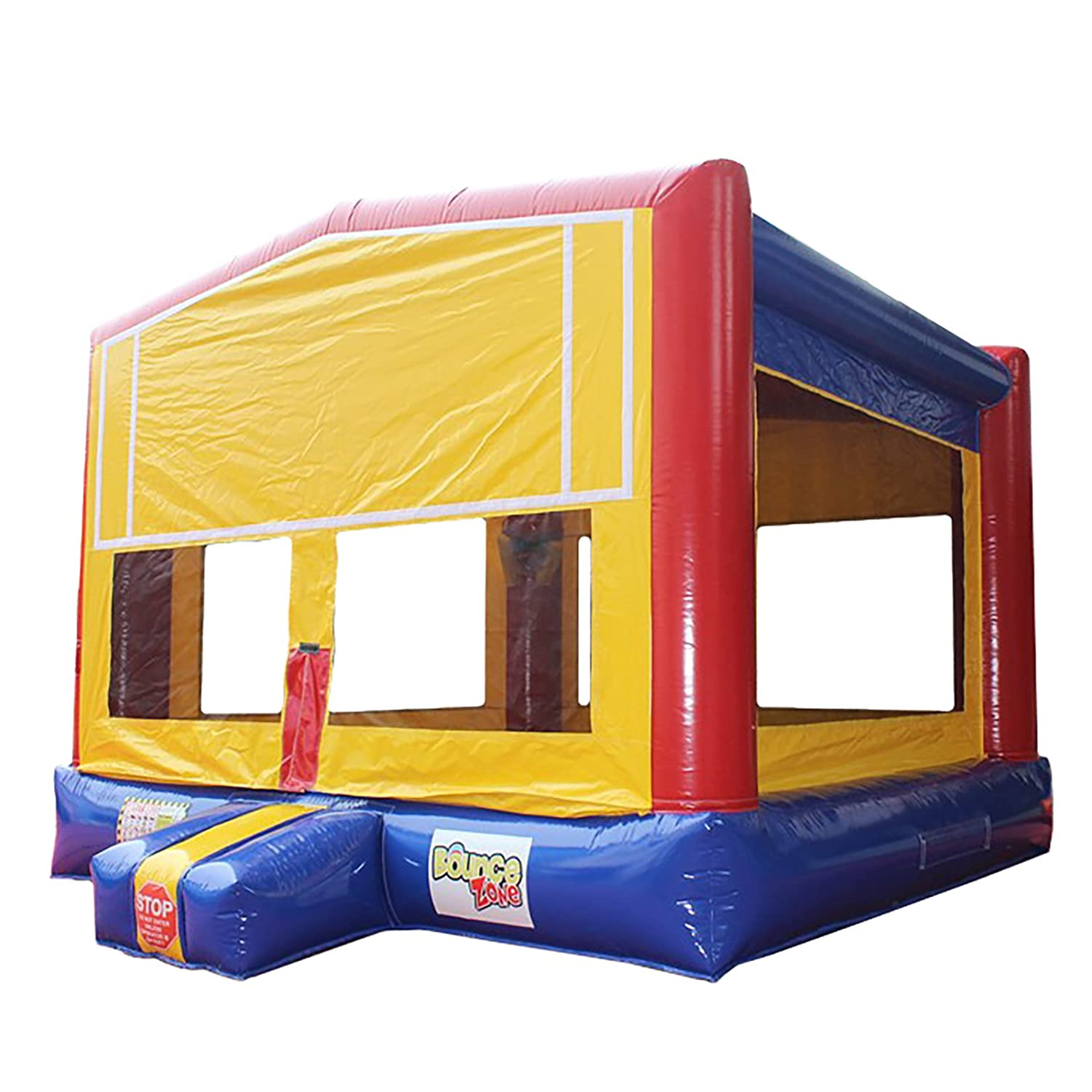 Inflatable Commercial Grade Bounce House 15ft 100/% PVC with Blower