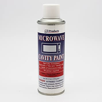 Microondas Pearl White Spray de pintura 170: Amazon.es ...