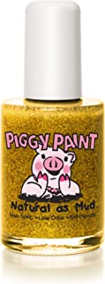 product image for Piggy Paint 100% Non-toxic Girls Nail Polish, Safe, Chemical Free, Low Odor for Kids - 0.5 Fluid Ounce - Heart of Gold - Great Stocking Stuffer for Kids