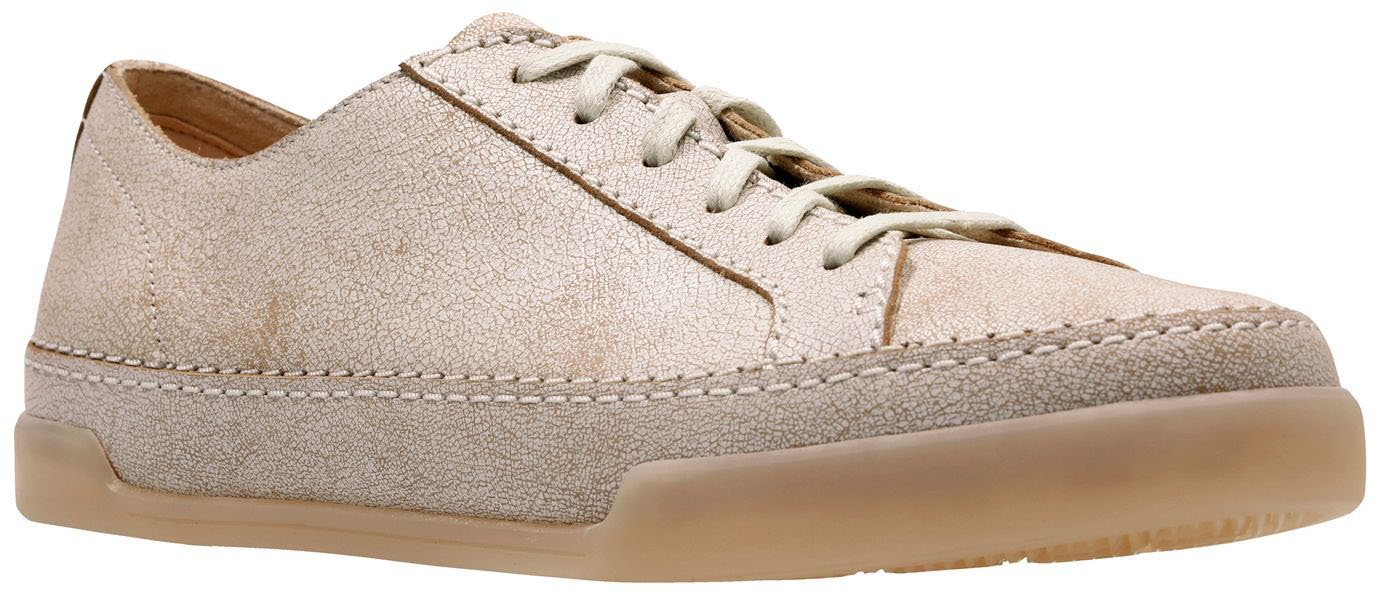 CLARKS Women's Hidi Holly Sneaker B0776C1B4X 10 B(M) US|White Leather