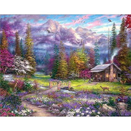 5D Diamond Painting Embroidery Cross Stitch Kit Home Decor DIY Full Drill Crafts
