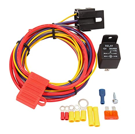 Awesome Amazon Com Quick Fuel Technology 30 199Qft Fuel Pump Relay Kit Wiring Cloud Venetbieswglorg