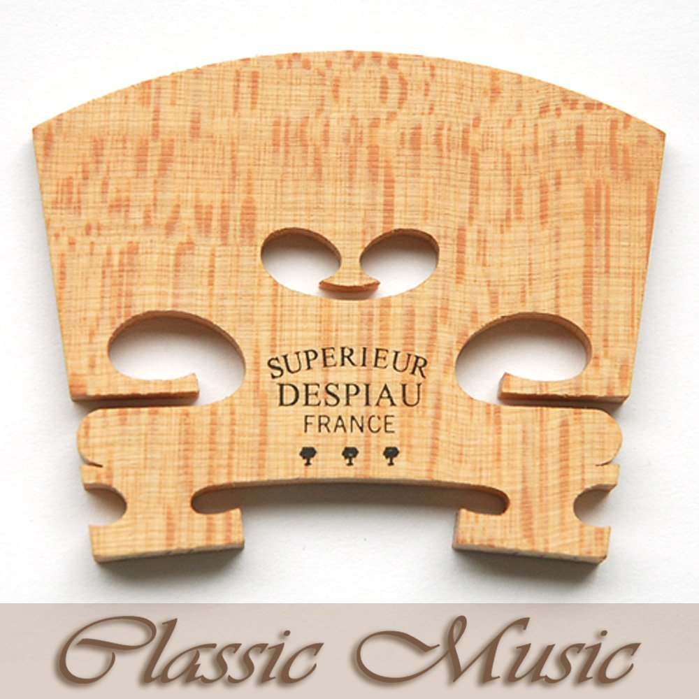 Classic Music Genuine Despiau Superieur Violin Bridge,For 4/4,3 Tree/Three Tree