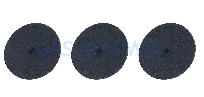 Discos de goma para máquina de café (49 mm) negro: Amazon.es ...