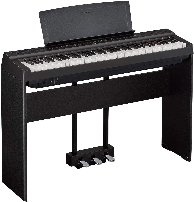 Yamaha Piano P-121B - Piano de escenario (73 teclas sensibles ...