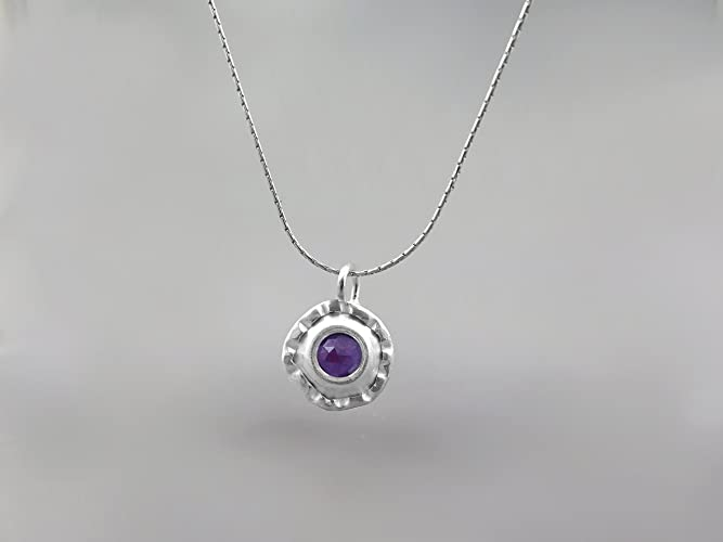Amethyst natural stone necklace women handmade jewellery pendants amethyst natural stone necklace women handmade jewellery pendants large pendant sterling silver necklace february birthstone jewellery mozeypictures Image collections