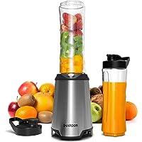 SHARDOR Batidoras de Vaso Individual Licuadora para Verduras y Frutas Multifuncional Blender Smoothies Zumos Acero…