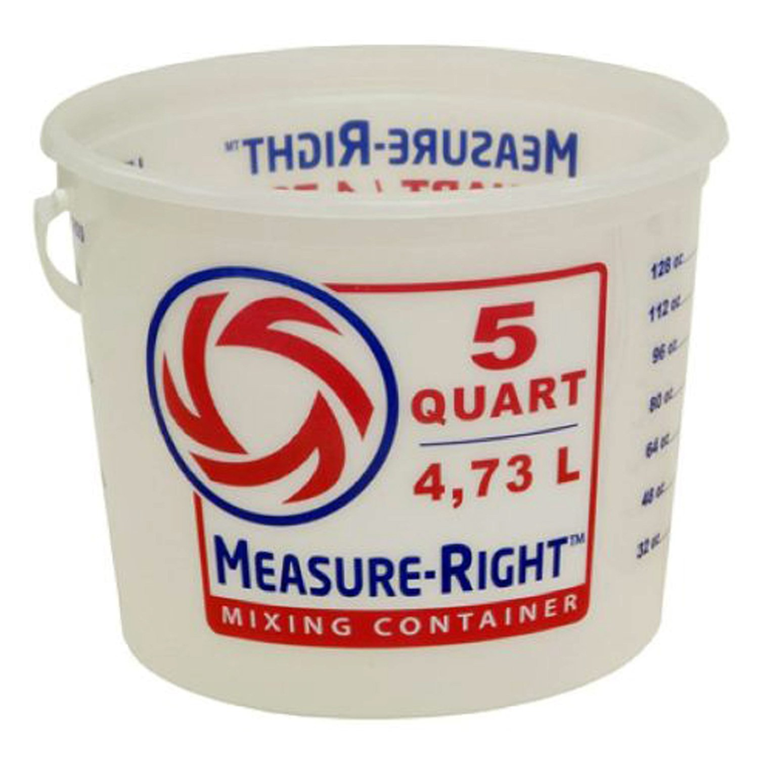 United Solutions 5-Quart Residential Paint Bucket Measure-Right Mixing Container Painters MR Mixing Pail by United Solutions