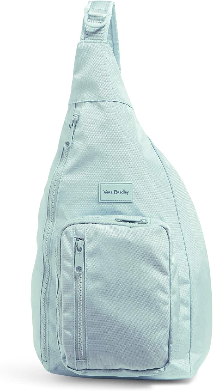 Vera Bradley Women's Recycled Lighten Up ReActive Sling Backpack