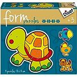 Diset - 69953 - Puzzle - Form Animaux - 14 Pièces