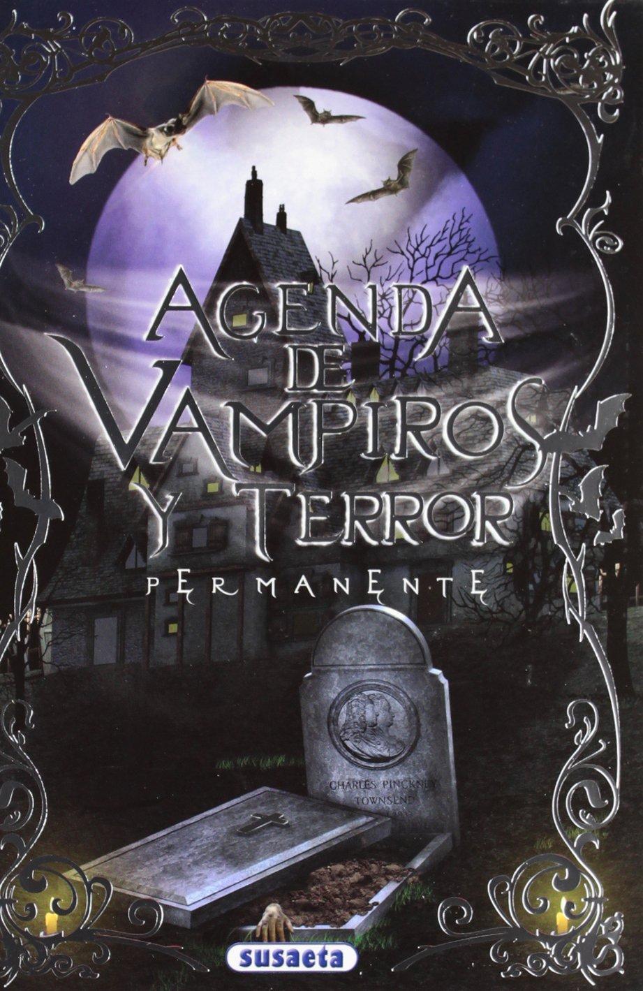 Estuche agenda escolar permanente vampiros y terror (24 ...