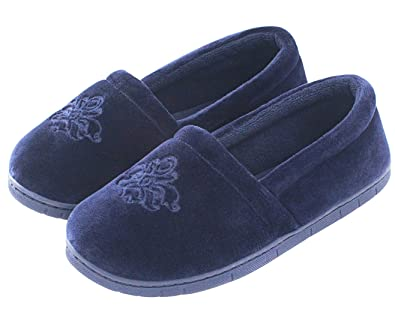 super specials new authentic entire collection ULTRAIDEAS Women's Comfy Memory Foam Cotton Knit Slippers, Ladies' Plush  Terry Lining Loafer Lightweight House Shoes with Indoor Outdoor Anti-Skid  ...