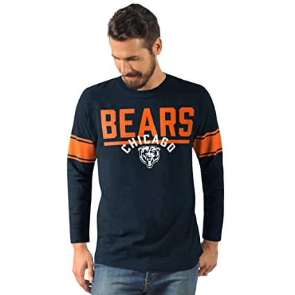 5ddc98fd3 G-III Sports Chicago Bears Men s Champion Long Sleeve Fashion T-Shirt (Small