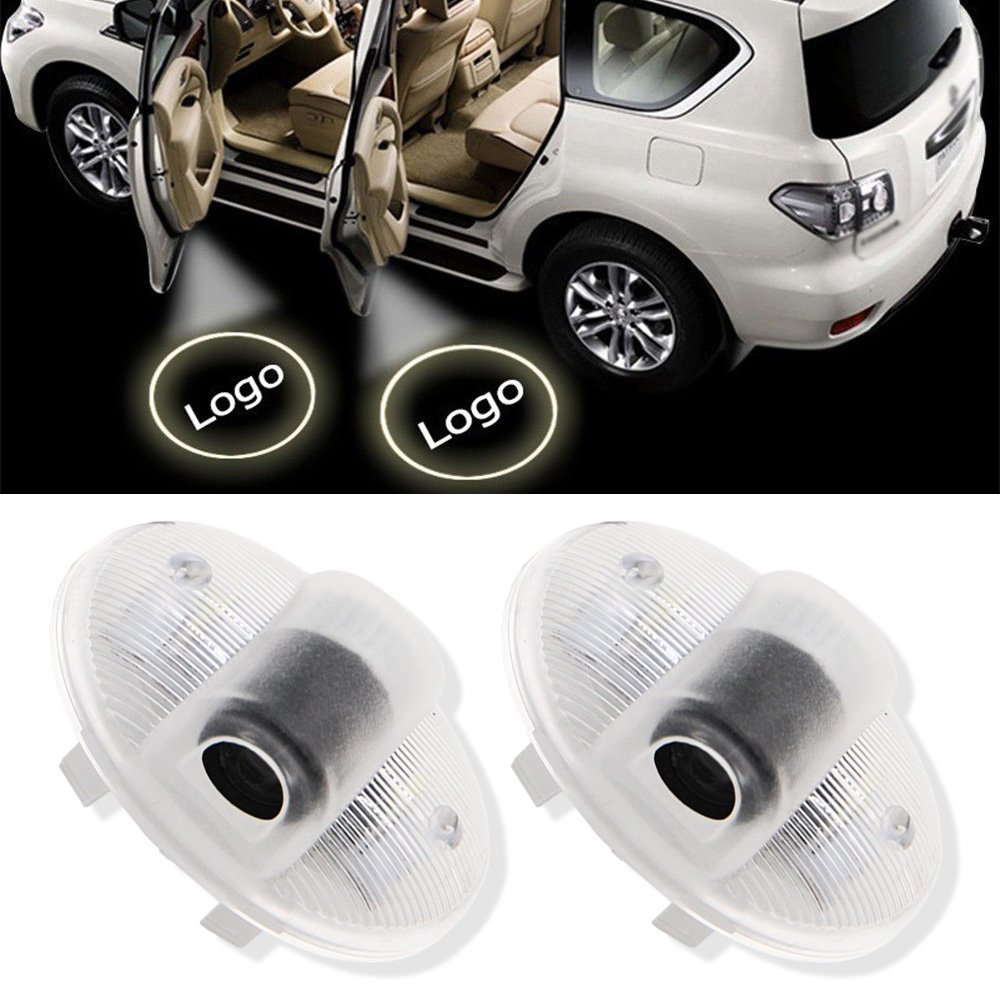 1 Pair Car LED Projector Door Lamp Ghost Shadow led Light Courtesy Logo Kit For Mazda 8 RX-8 mazda 6 atenza