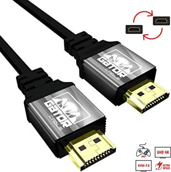 Gold DisplayPort to HDMI Video Adapter Converter+Braided 10FT v1.4 HDMI Cable 3D