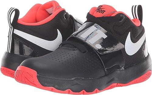 Nike Team Hustle D - Zapatillas para bebé, Negro (Negro/Plateado ...