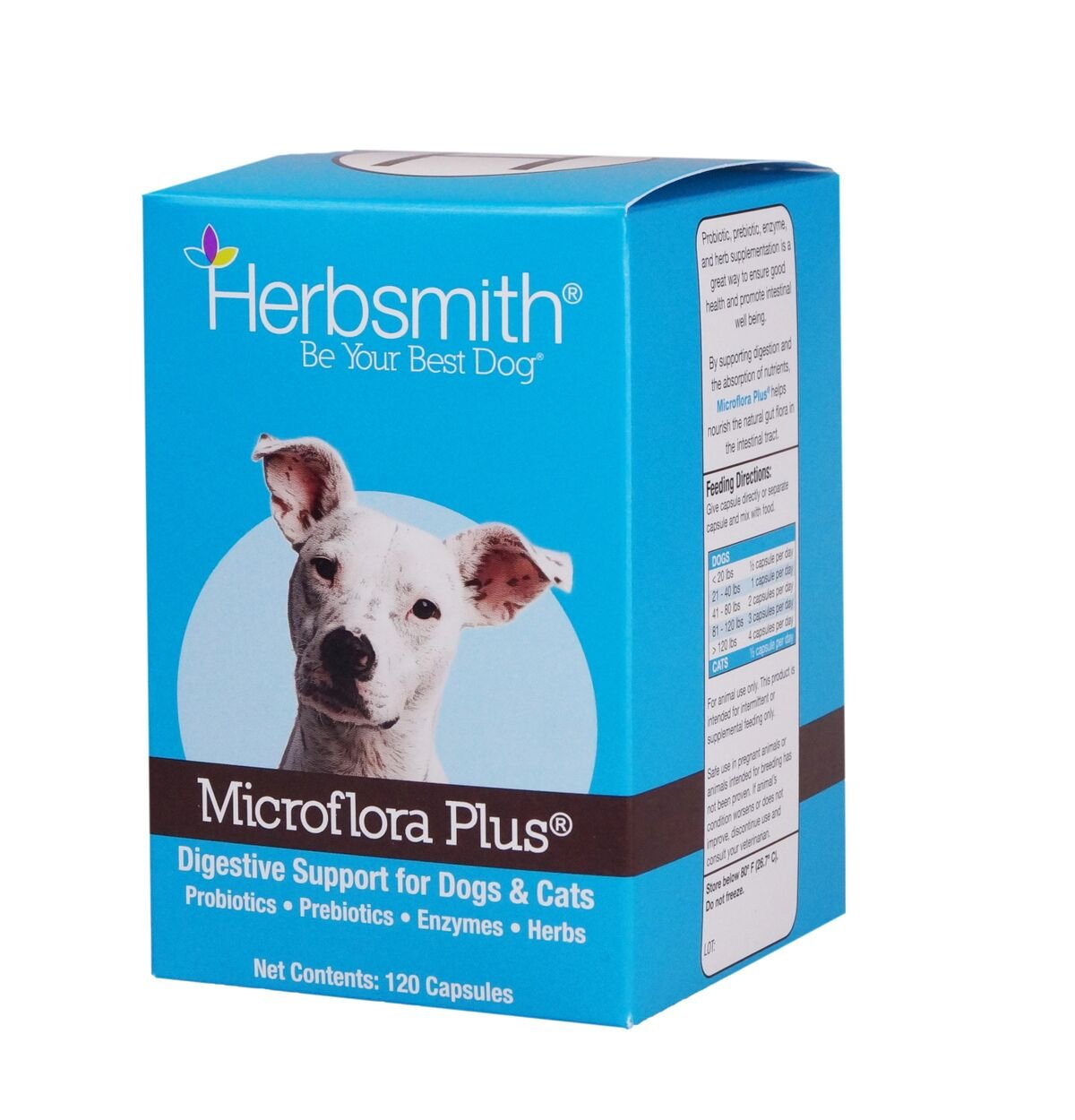 Herbsmith Microflora Plus Capsule for Pet Digestion