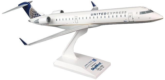 Daron Skymarks United Express CRJ700 1/100 SkyWest Aircraft Model