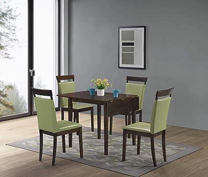 Amazon.com - GTU Furniture 5Pc Mini Foldable Dining Room Set ...