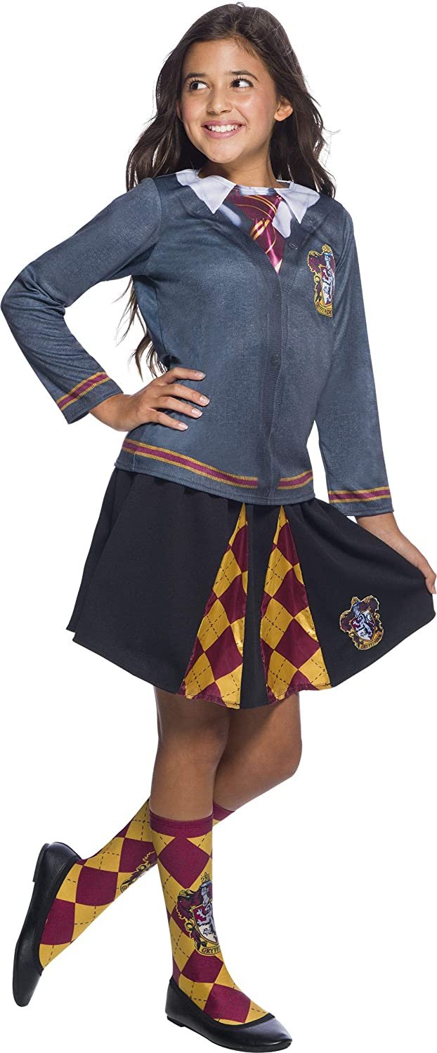 Rubies Unisex-Children Harry Potter Childs Costume Top Gryffindor Small
