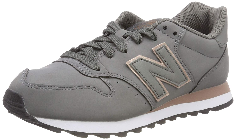 New Balance 500, Zapatillas para Mujer 40 EU|Gris (Grey/Rose Gold Cr)