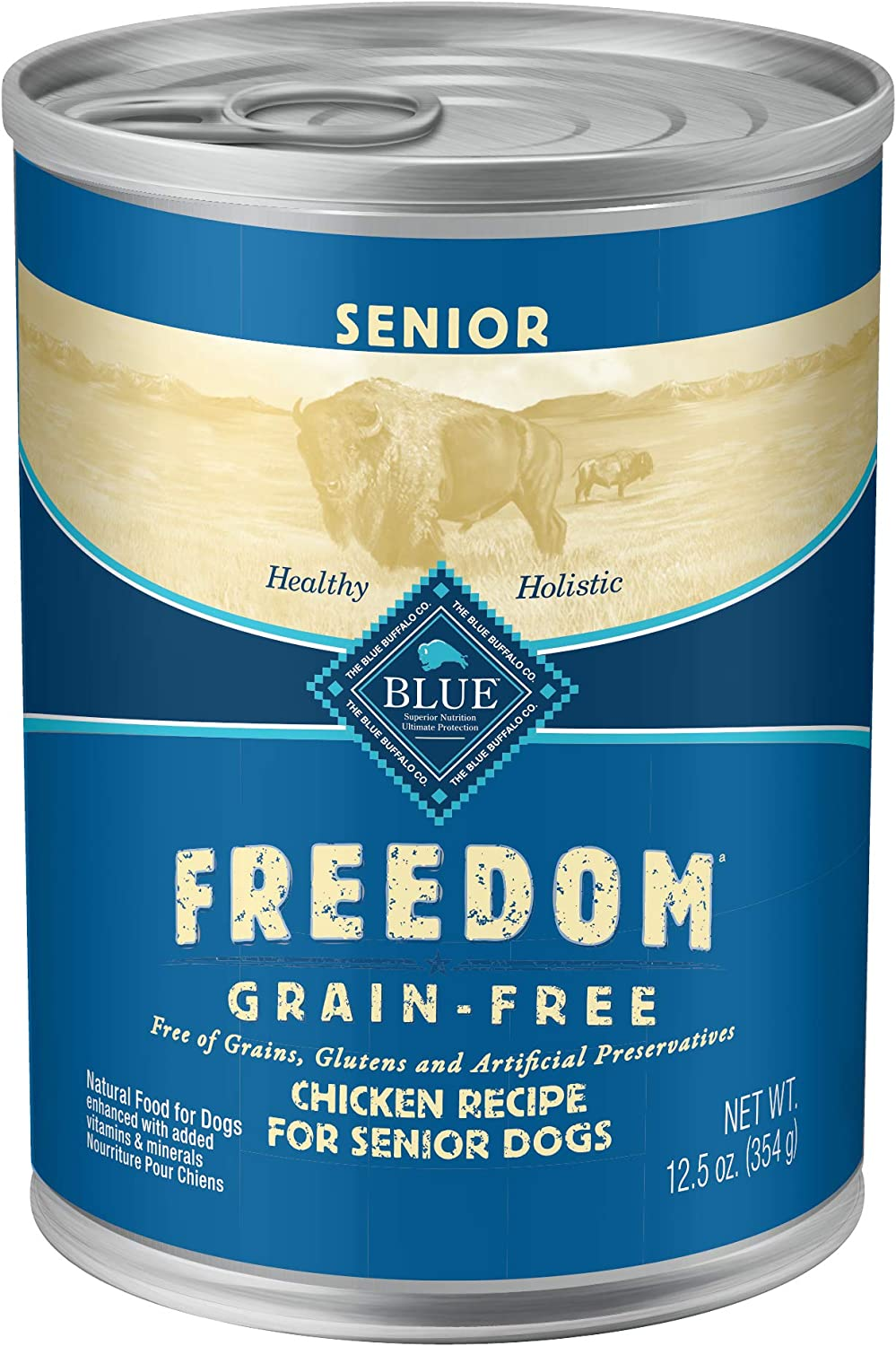 Blue Freedom Natural Wet Dog Food, Chicken Recipe