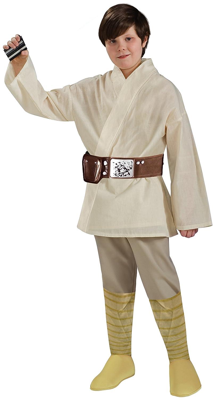 Amazon.com Rubieu0027s Star Wars Classic Childu0027s Deluxe Luke Skywalker costume Small Toys u0026 Games  sc 1 st  Amazon.com & Amazon.com: Rubieu0027s Star Wars Classic Childu0027s Deluxe Luke Skywalker ...