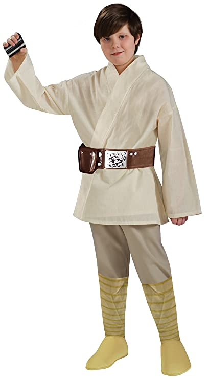 Rubies Star Wars Classic Childs Deluxe Luke Skywalker costume, Large