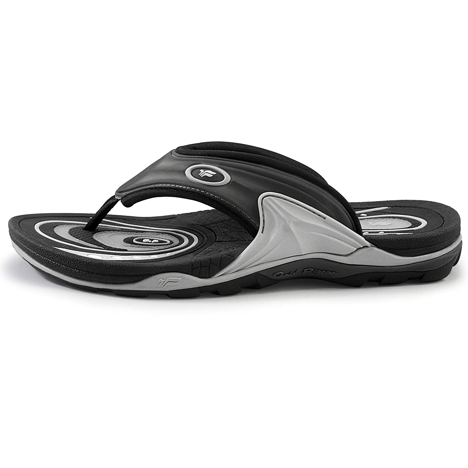 ca29c89ad Amazon.com  Gold Pigeon Shoes Air Cushion Active Sports Flip Flops   Sandals  for Women   Men  Shoes
